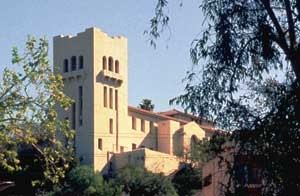 The Southwest Museum, constructed in 1911 / Photo by Diane Kane of Caltrans, released into the public domain, courtesy of Wikimedia Commons